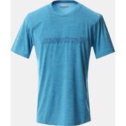 トリニティトレイルグラフィックT AE0360 463 Riptide Lサイズ [ランニングシャツ メンズ]