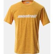 トリニティトレイルグラフィックT AE0360 790 Bright Gold Mサイズ [ランニングシャツ メンズ]