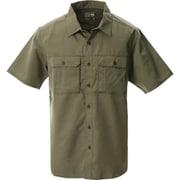 キャニオンソリッドショートスリーブシャツ OE7044 204 Ridgeline Mサイズ [アウトドア シャツ メンズ]