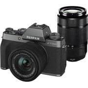 FUJIFILM X-T200 ダブルズームレンズキット ダークシルバー [ボディ+交換レンズ「フジノンレンズ XC15-45mmF3.5-5.6 OIS PZ」+「フジノンレンズ XC50-230mmF4.5-6.7 OIS II」]