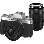 FUJIFILM X-T200 ダブルズームレンズキット シルバー [ボディ+交換レンズ「フジノンレンズ XC15-45mmF3.5-5.6 OIS PZ」+「フジノンレンズ XC50-230mmF4.5-6.7 OIS II」]