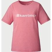logo PF W's T 101050 Pink Lサイズ [アウトドア カットソー レディース]