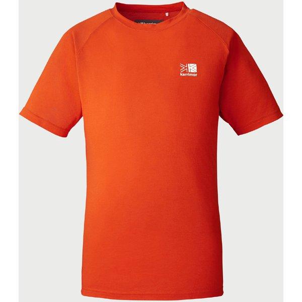 boulder PD S/S 101003 016 Orange Mサイズ [アウトドア カットソー ユニセックス]