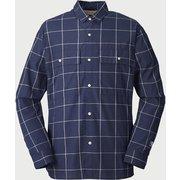 kilda light L/S shirts 101036 D.Navy XLサイズ [アウトドア シャツ メンズ]