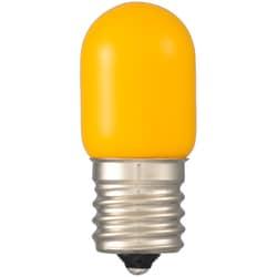 LDT1Y-H-E17 11 [LED電球 ナツメ球形 E17/0.8W 黄]