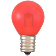 LDS1R-H-E17 13C [LED電球 サイン球 E17 クリア赤]