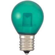 LDS1G-H-E17 13C [LED電球 サイン球 E17 クリア緑]