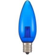LDC1B-G-E17 11C [LED電球 シャンデリア電球形 E17/1.2W 青 クリア]