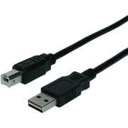 USB-R20/BK [USBケーブル A-B 両面挿し クロ 2m]