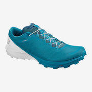 SENSE 4 /PRO L41043000 FJORD BLUE/WHITE/ICY MORN 28cm [トレイルランニングシューズ メンズ]