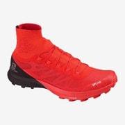 S/LAB SENSE 8 SG L40751600 Racing Red / Black / White 28.5cm [トレイルランニングシューズ ユニセックス]