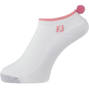 プロドライ ショート ウィメンズ ゴルフソックス ホワイト/ピンク フリーサイズ(22~24cm) 女性用 2020年モデル