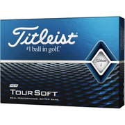 TOUR SOFT(ツアーソフト) 2020年モデル ホワイト [ゴルフボール 1ダース12球入り]