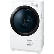 ES-S7E-WR [ドラム式プラズマクラスター洗濯乾燥機 洗濯7kg/乾燥3.5kg 右開き ホワイト系]
