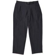ワンタックテーパードストレッチトラウザーズ One Tuck Tapered Stretch Trousers GM79355P (BK)ブラック XSサイズ [アウトドア パンツ メンズ]