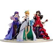 Fate/stay night ~15th Celebration Project~ セイバー 遠坂凛 間桐桜 ~15th Celebration Dress Ver.~ Premium Box [1/7スケール 塗装済み完成品フィギュア 全高約250mm]