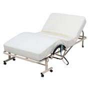 14746 [折たたみ電動ベッド 高床タイプ FU-05-7H WH]