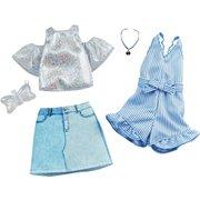 バービー GHX56 ファッション2パック デニム・スパークル [対象年齢:3歳~]