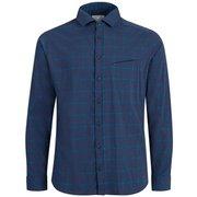 マウンテンロングスリーブシャツメン Mountain Longsleeve Shirt Men 1015-00351 50321 peacoat-gentian Mサイズ [アウトドア シャツ メンズ]