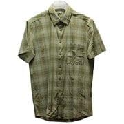 Trovat Trail Shirt Men 1015-00072 4072 olive Lサイズ [アウトドア シャツ メンズ]