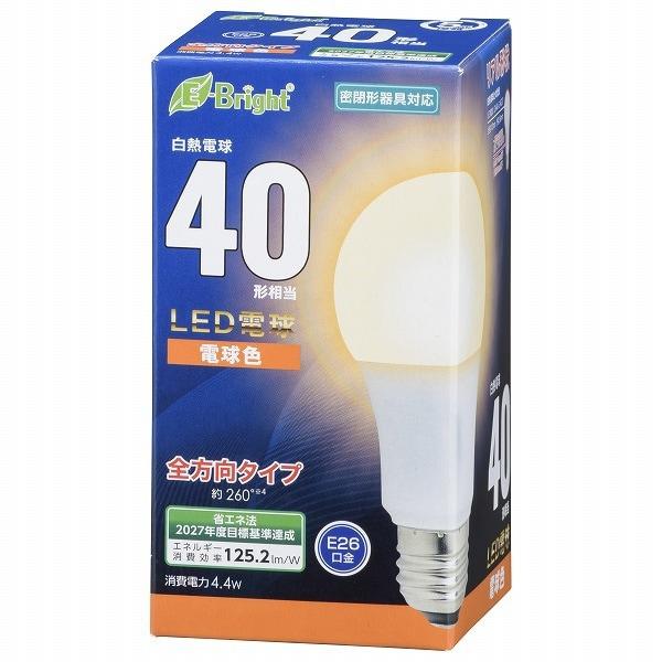 LDA4L-G AG27 [LED電球 E26 40形相当 全方向 電球色 密閉器具対応]