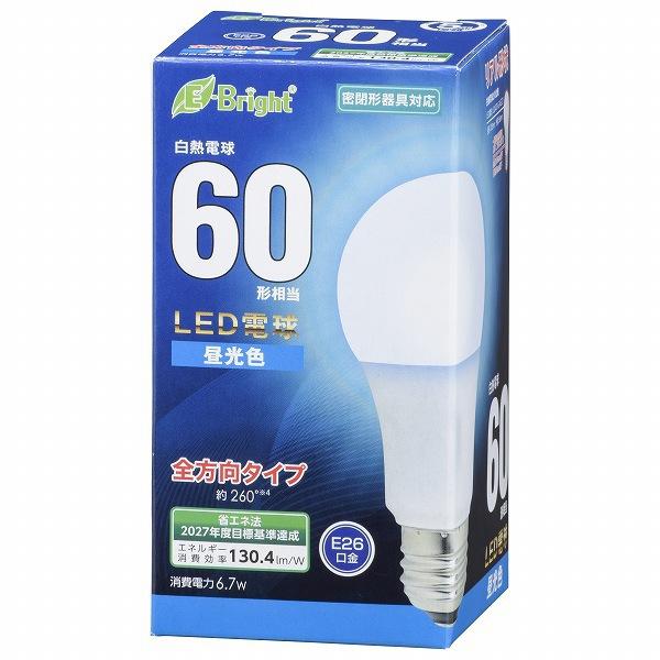 LDA7D-G AG27 [LED電球 E26 60形相当 全方向 昼光色 密閉器具対応]