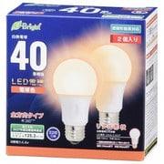 LDA4L-G AG27 2P [LED電球 E26 40形相当 全方向 電球色 密閉器具対応 2P]