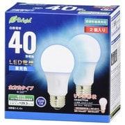 LDA4D-G AG27 2P [LED電球 E26 40形相当 全方向 昼光色 密閉器具対応 2P]