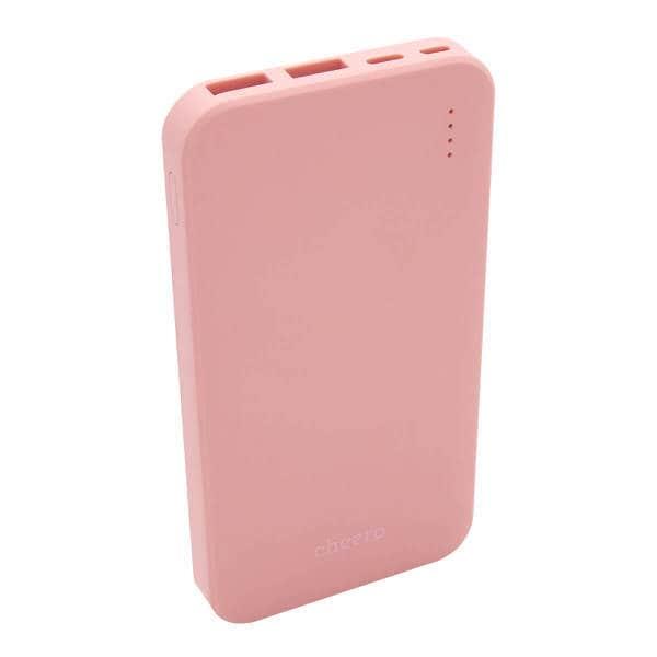 CHE-107-PK [モバイルバッテリー cheero Bloom 10000mAh Pink]
