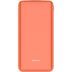 CHE-112-PE [モバイルバッテリー cheero Flat 10000mAh Peach]