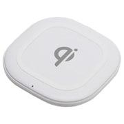 BQIMP010502W [Qi(チー)対応 ワイヤレス充電器 パッド型 5W ホワイト]