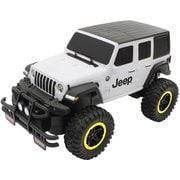 RC Jeep Wrangler Unlimited Sahara 艶消しホワイト&ブラック [ラジコン]