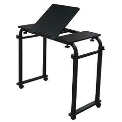 SR-BT05-BK [ベッドテーブル 天板角度調節可能タイプ ブラック]