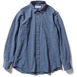 Cシールドプレザントシャツ C-SHIELD Pleasant Shirt 5212072 (040)ブルー Lサイズ [アウトドア シャツ メンズ]