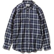 Cシールドプレザントシャツ C-SHIELD Pleasant Shirt 5212072 (046)ネイビー Sサイズ [アウトドア シャツ メンズ]