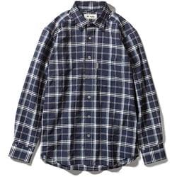 Cシールドプレザントシャツ C-SHIELD Pleasant Shirt 5212072 (046)ネイビー Mサイズ [アウトドア シャツ メンズ]