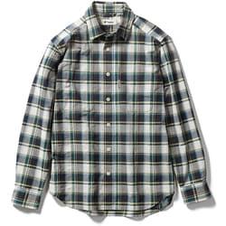Cシールドプレザントシャツ C-SHIELD Pleasant Shirt 5212072 (060)グリーン Mサイズ [アウトドア シャツ メンズ]