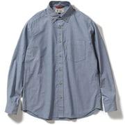TSエニタイムシャツ TS Anytime shirt 5212078 (040)ブルー Mサイズ [アウトドア シャツ メンズ]