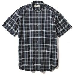 CシールドプレザントS S/S C-SHIELD Pleasant Shirt S/S 5212080 (046)ネイビー Sサイズ [アウトドア シャツ メンズ]