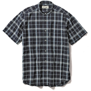 CシールドプレザントS S/S C-SHIELD Pleasant Shirt S/S 5212080 (046)ネイビー Mサイズ [アウトドア シャツ メンズ]