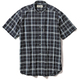 CシールドプレザントS S/S C-SHIELD Pleasant Shirt S/S 5212080 (046)ネイビー XLサイズ [アウトドア シャツ メンズ]