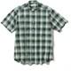 CシールドプレザントS S/S C-SHIELD Pleasant Shirt S/S 5212080 (060)グリーン Mサイズ [アウトドア シャツ メンズ]