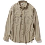 TSフィールドフローゲームシャツ TS Field Flow Game Shirt 5212084 (010)カーキ XLサイズ [アウトドア シャツ メンズ]