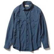 TSフィールドフローゲームシャツ TS Field Flow Game Shirt 5212084 (200)アイアンブルー Mサイズ [アウトドア シャツ メンズ]