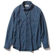 TSフィールドフローゲームシャツ TS Field Flow Game Shirt 5212084 (200)アイアンブルー XLサイズ [アウトドア シャツ メンズ]
