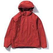 ミズリープジャケット Mizzleap Jacket 5213090 (080)レッド Lサイズ [アウトドア レインジャケット メンズ]