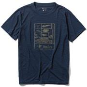 CシールドレイクトラウトT S/S C-SHIELD Lake Trout T S/S  5215002 (046)ネイビー XLサイズ [アウトドア カットソー メンズ]