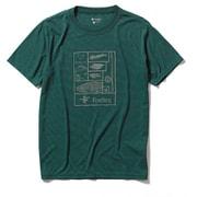 CシールドレイクトラウトT S/S C-SHIELD Lake Trout T S/S  5215002 (072)フォレストグリーン XLサイズ [アウトドア カットソー メンズ]