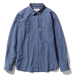 Cシールドプレザントシャツ C-SHIELD Pleasant Shirt 8212040 (040)ブルー Lサイズ [アウトドア シャツ レディース]