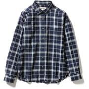 Cシールドプレザントシャツ C-SHIELD Pleasant Shirt 8212040 ネイビー Sサイズ [アウトドア シャツ レディース]